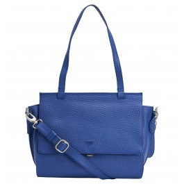 Damenkurzgrifftasche in electric blue (Abbildung)